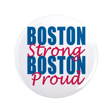 "Boston Strong 3.5"" Button"