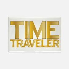 I travel through time. I'm a time traveler. Rectan