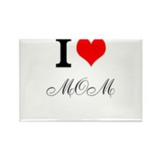 Cute Love your mother Rectangle Magnet (100 pack)