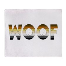 Woof Throw Blanket