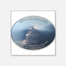 "North Whiteville Skywatch Square Sticker 3"" x 3"""