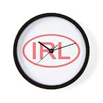 Ireland - IRL Oval Wall Clock