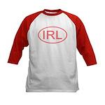 Ireland - IRL Oval Kids Baseball Jersey
