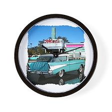 1957 Chevrolet Nomad Wall Clock