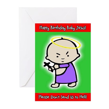 Classic Baby J Christmas Cards (Pack of 10 Cards)