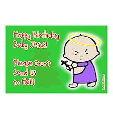 Classic Baby Jesus Birthday Postcards (8pk)