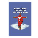Santacross Postcards (Package of 8)