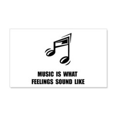Music Feelings Wall Decal