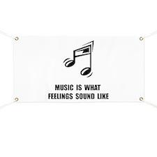 Music Feelings Banner