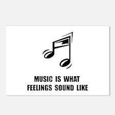 Music Feelings Postcards (Package of 8)