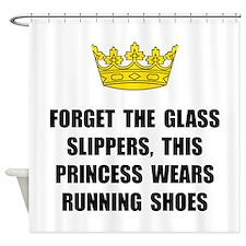 Princess Run Shower Curtain