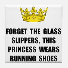 Princess Run Tile Coaster