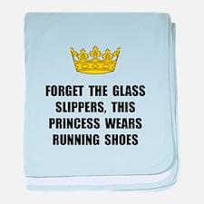 Princess Run baby blanket