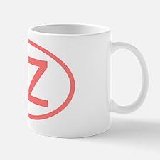 Czech Republic - CZ Oval Mug