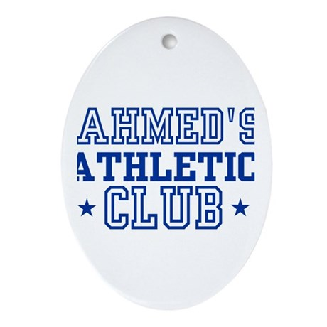 Ahmed Oval Ornament