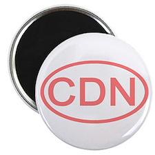 Canada - CDN Oval Magnet