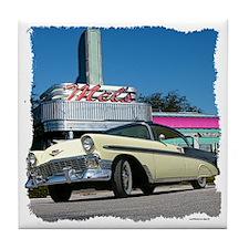 1956 Chevy Bel Air Tile Coaster