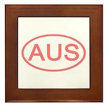 Australia - AUS Oval Framed Tile