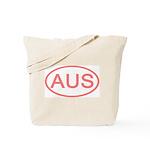 Australia - AUS Oval Tote Bag