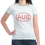 Australia - AUS Oval Jr. Ringer T-Shirt