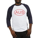 Australia - AUS Oval Baseball Jersey