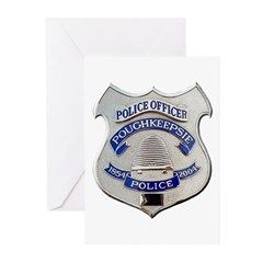 Poughkeepsie Police Greeting Cards (Pk of 10)