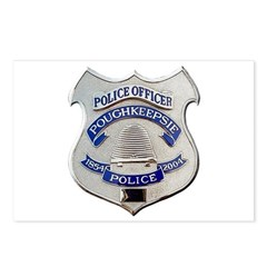 Poughkeepsie Police Postcards (Package of 8)