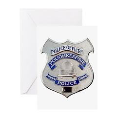 Poughkeepsie Police Greeting Card