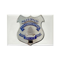 Poughkeepsie Police Rectangle Magnet (10 pack)