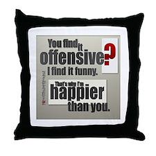 Offensive? Throw Pillow