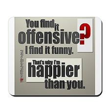 Offensive? Mousepad