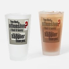 Offensive? Drinking Glass