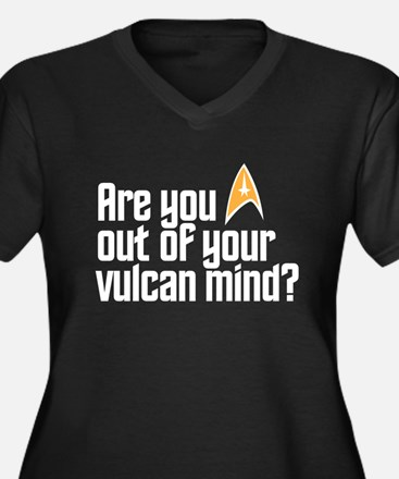 Vulcan Mind Plus Size T-Shirt