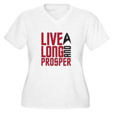 live long Plus Size T-Shirt