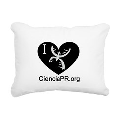 i love cpr.png Rectangular Canvas Pillow