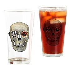 Gear Head Drinking Glass