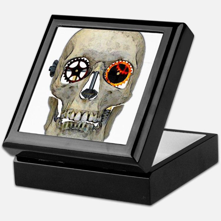 Gear Head Keepsake Box