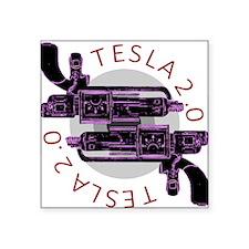 Tesla 2.0 Sticker