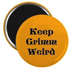 Keep Grimm Weird Magnet