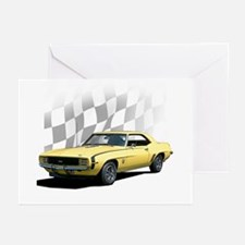 1969 Camaro RS SS Greeting Cards (Pk of 10)