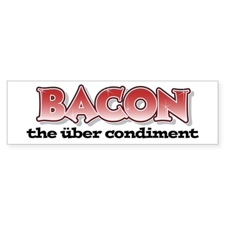 Über Bacon Sticker (Bumper)