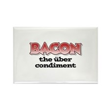 Über Bacon Rectangle Magnet (100 pack)