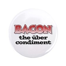"""Über Bacon 3.5"""" Button (100 pack)"""