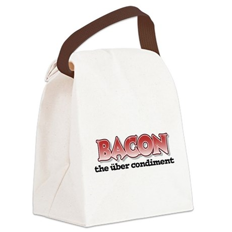 Über Bacon Canvas Lunch Bag