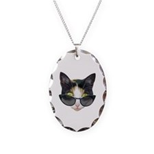 Cat Sunglasses Necklace