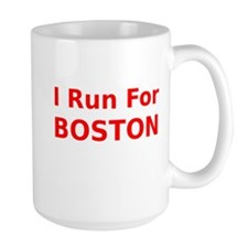 I Run For Boston Mug