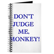 Don't Judge Me, Monkey Journal