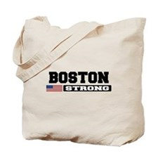 BOSTON STRONG U.S. Flag Tote Bag