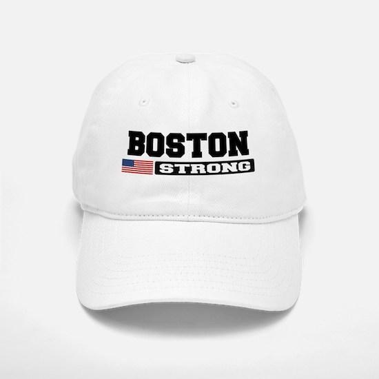 BOSTON STRONG U.S. Flag Baseball Baseball Baseball Cap