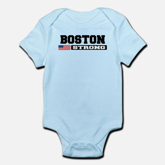 BOSTON STRONG U.S. Flag Body Suit